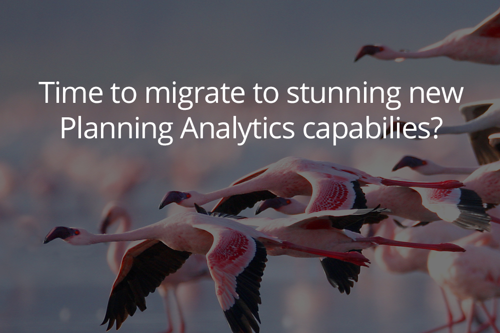 Stress-free TM1 to Planning Analytics Migration